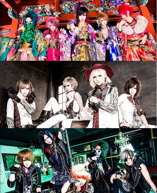 Royz, Codomo Dragon & Kiryu will Release New DVDs