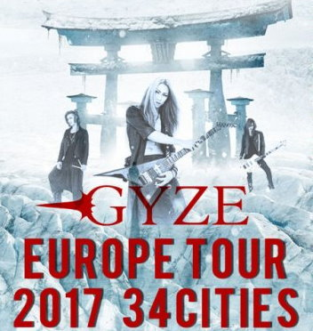 Versailles, GYZE, Bridear, PLASTICZOOMS and G∀LMET to Perform in Europe in Early 2017