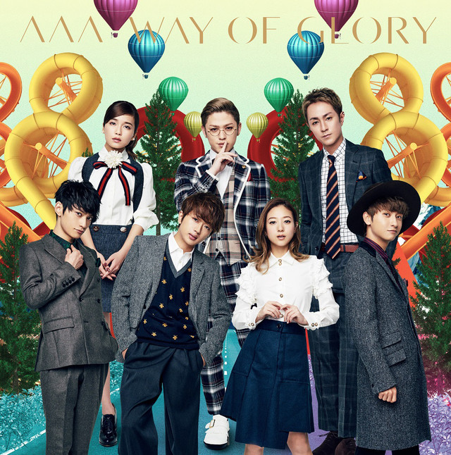 [Jpop] AAA Releases Final Cover Art As 7-Member Group