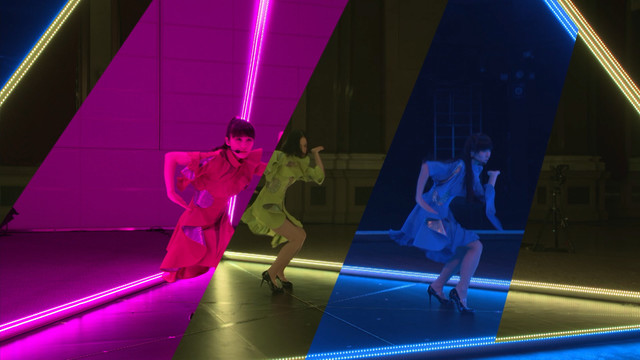 [Jpop] Perfume Synchronizes Performances In 3 Cities In Future Technology Showcase