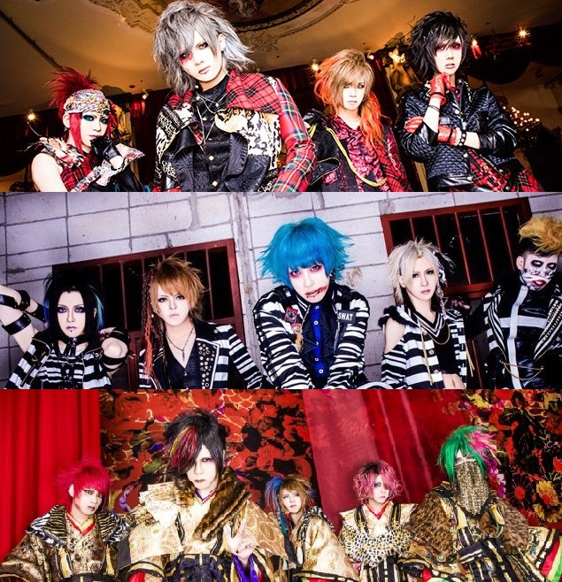 [Jrock] Kiryu, Codomo Dragon and Royz Announces New DVDs to be Released in January