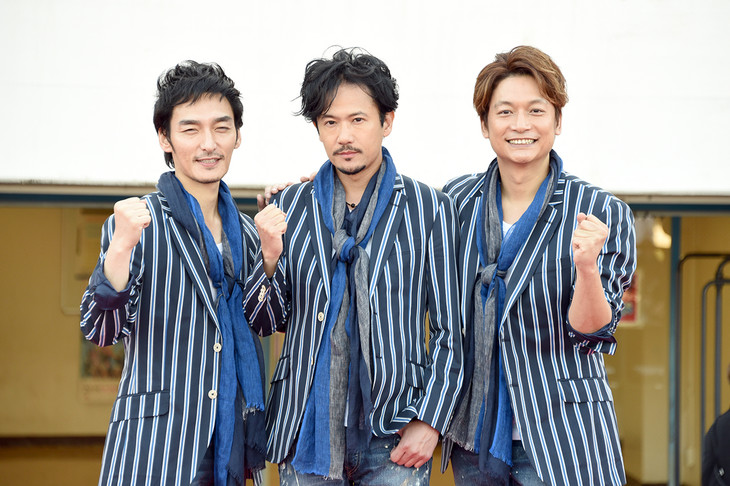 [Jpop] Former SMAP Members Come Together For New Song