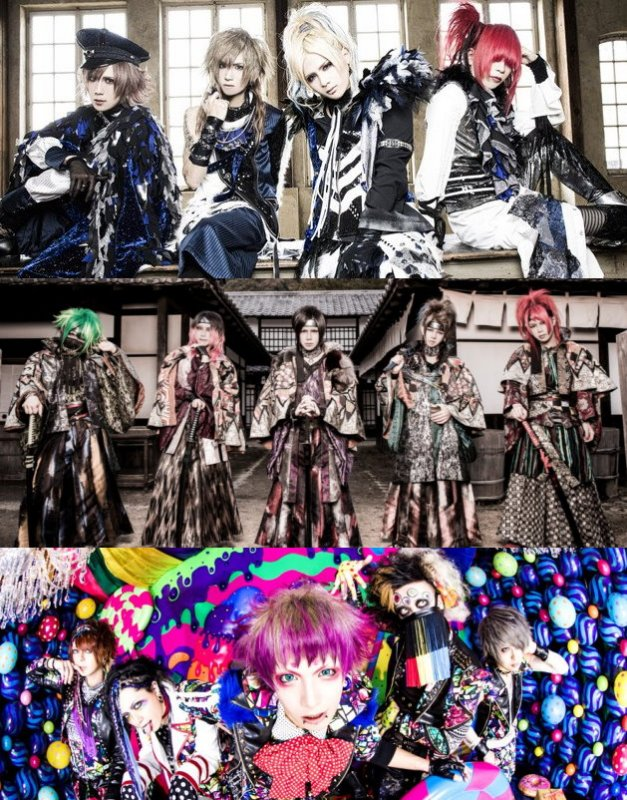 [Jrock] New DVDs of B.P.RECORDS Bands Royz, Kiryu and Codomo Dragon will be Released this Spring