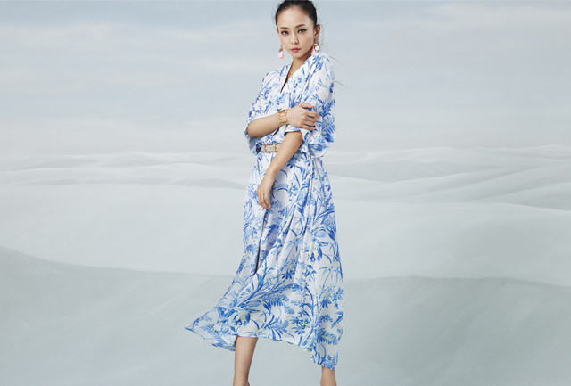 [Jpop] New Visuals For Namie Amuro x H&M Campaign Released