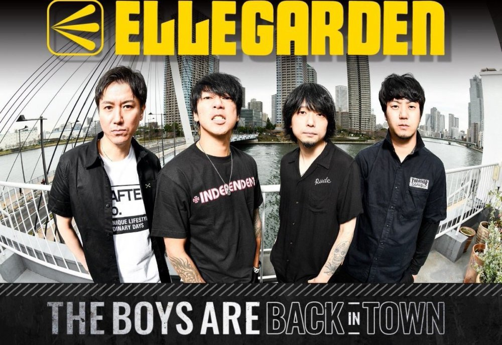 ELLEGARDEN Makes Comeback after 10 Years