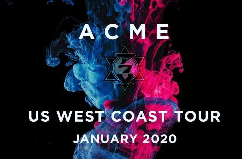 [Jrock] ACME Reveals Details on US West Coast Tour and Uploads New Music Video